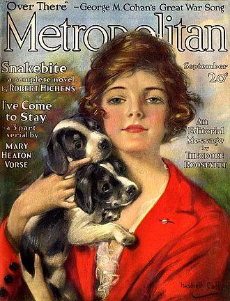 Metropolitan Magazine (New York City) - Metropolitan Magazine, cover dated September 1917