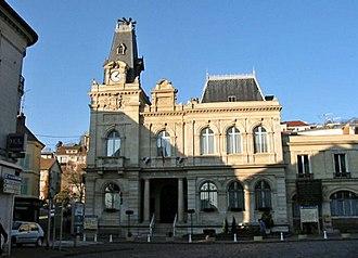 Meulan-en-Yvelines - Town hall (Hôtel de ville)