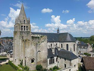 castle in Meung-sur-Loire, France
