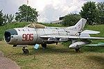 MiG-19PM w zbiorach Muzeum Lotnictwa w Krakowie.jpg