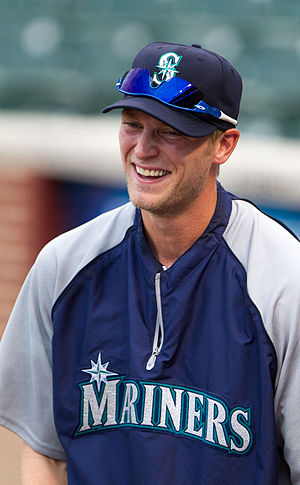 Michael Saunders - Saunders with the Seattle Mariners in 2012