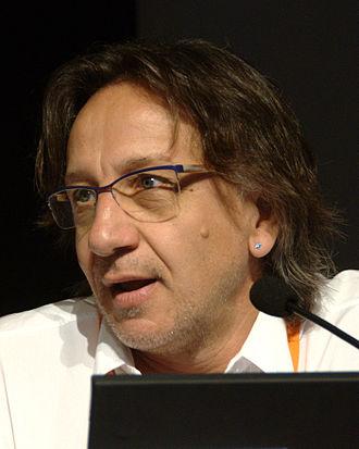 Michele Boldrin - Michele Boldrin in Trento, Italy for the Festival of Economics 2010
