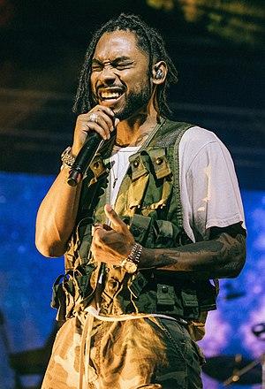 Miguel (singer) - Miguel performing in September 2017