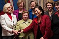 Mikulski, Senate Women Held a Photo-op With Pay Equity Activist Lilly Ledbetter (12195066065).jpg