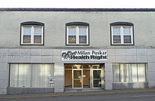 photo of storefront of Milan Puskar Health Right free clinic