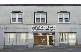 Free clinic - Milan Puskar Health Right free clinic in Morgantown, West Virginia