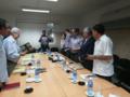 Militares bolivianos, Juan Ramón Quintana y Helena Argirakis en Cuba sobre la Escuela Antiimperialista.png