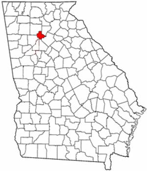 Milton County, Georgia - Image: Milton County Georgia