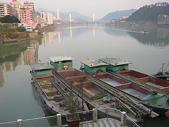 Fujian - Min River (閩江) in Nanping (南平)