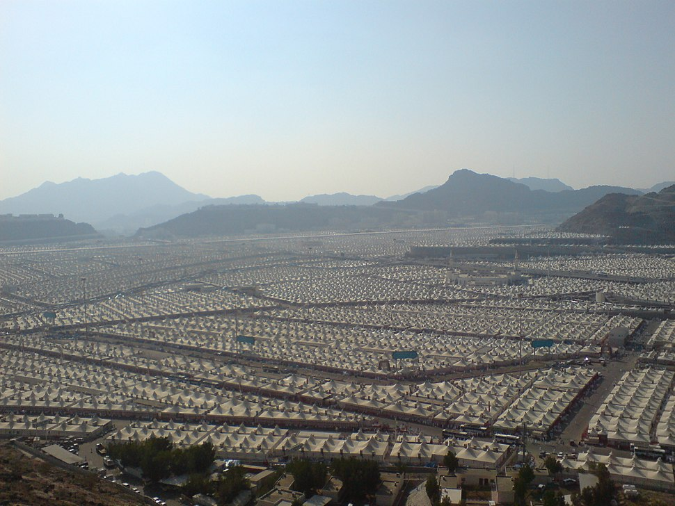 Tents at Mina