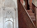 Miqhrab and Menbar (Pulpit) - Jameh Mosque - Na'in - Central Iran (7429617286) (2).jpg