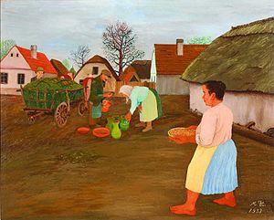 Mirko Virius - Potter in the Village (1939)
