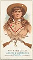 Miss Annie Oakley, Rifle Shooter, from World's Champions, Series 1 (N28) for Allen & Ginter Cigarettes MET DP827433.jpg