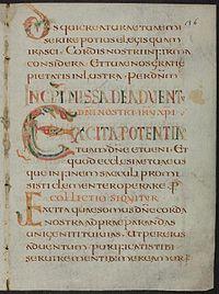 Missale Gallicanum vetus - BAV Pal.lat.493 f36r (incipit missa).jpeg