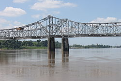 Natchez-Vidalia Bridge over the Mississippi River