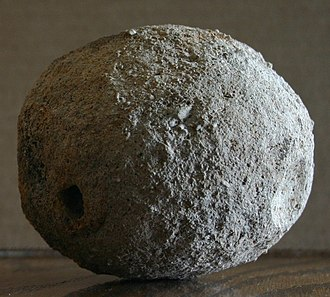 """Weaubleau structure - One of the """"round rocks"""" found in Osceola"""