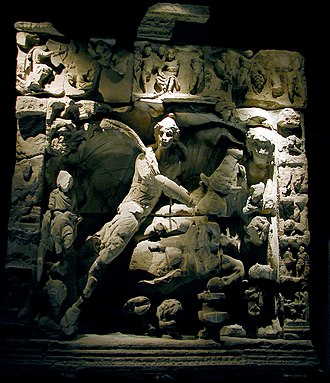 Mithraism - Bas-relief of the tauroctony of the Mithraic mysteries, Metz, France.