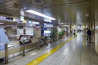 Mitsukoshimae Station Metro station in Tokyo, Japan