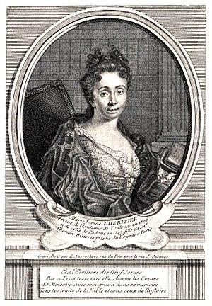 Marie-Jeanne L'Héritier - Image: Mlle L'Héritier
