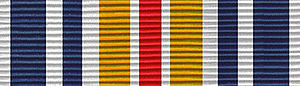 Marksmanship Ribbon - Missouri National Guard Adjutant General's Twenty Ribbon