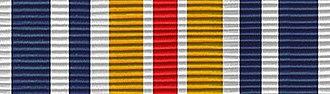Marksmanship Ribbon - Missouri National Guard Adjutant General's Twenty Ribbon