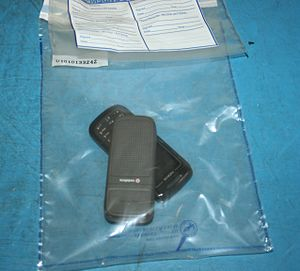 Digital forensics - Mobile phones in a UK Evidence bag