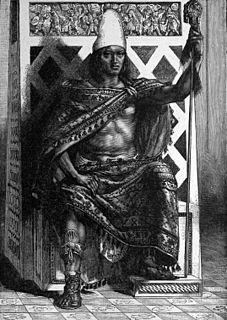 Moctezuma II Ninth tlatoani of the Aztec Empire in Tenochtitlán