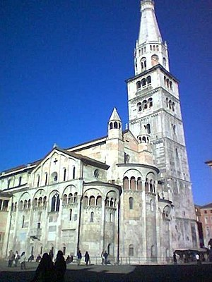 Modena Cathedral - The Cathedral with the Ghirlandina