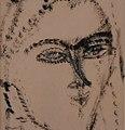 Modigliani, Head of a Woman, 1915 (1) (29026889080).jpg