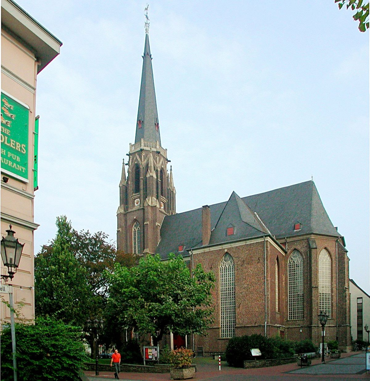 stadtkirche moers wikipedia. Black Bedroom Furniture Sets. Home Design Ideas
