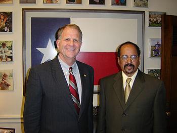 Mohamed Abdelaziz and Ted Poe