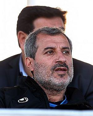 Mohammad Mayeli Kohan - Mayeli Kohan in Iran national under-23 football team training in 2015