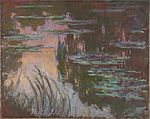 Monet - Water-Lilies, Setting Sun.jpg