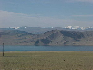 Bayan-Ölgii Province - Lake Tolbo
