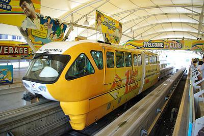 Der Monorail In Kuala Lumpur
