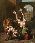 Monsiau, Nicolas-André - Le Lion de Florence - 1801.JPG