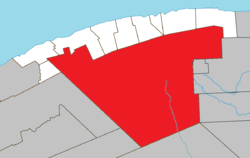 Location Within La Haute Gaspsie RCM