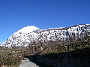 Monte Alpi - Image: Monte Alpi