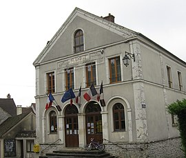 The town hall in Montgé-en-Goële
