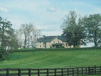 Montpelier (Sperryville, Virginia) - Montpelier in May, 2016