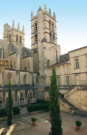 Montpellier Cathedral - Image: Montpelliercathemed