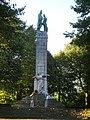 Monument commémoratif du Fort de Loncin, Belgique (vue de l'allée).JPG