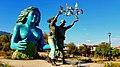 Monumento De la Reconcilacion, En San Salavdor. para conmemorar los Acuerdos De Paz.jpg