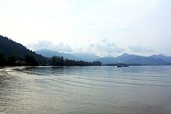 Morning landscape. Koh Chang Island - bight Klong Prao.jpg