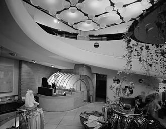 1948 in architecture - V. C. Morris Gift Shop - Frank Lloyd Wright's prototype for the Guggenheim Museum