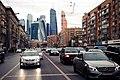Moscow City view from Bolshaya Dorogomilovskaya Street.jpeg