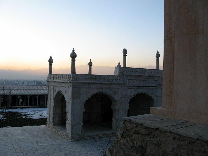 Mosque at Baghi Babur in Kabul