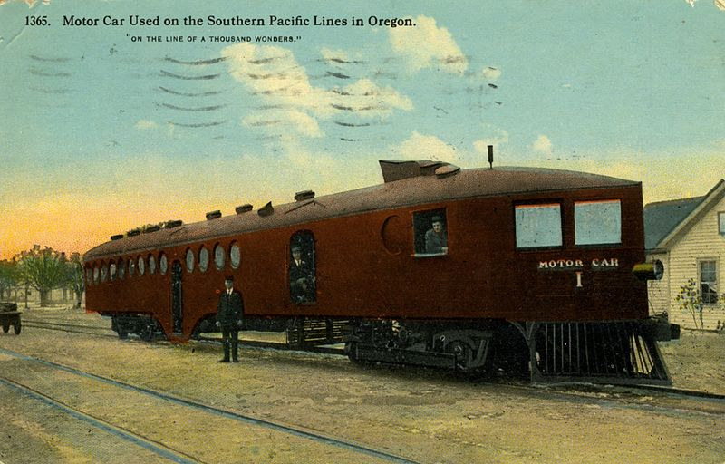 File motor car used on the southern pacific lines in for Southern motors used cars