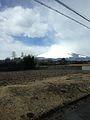 Mount Fujisan from bus for Kawaguchiko Station.jpg