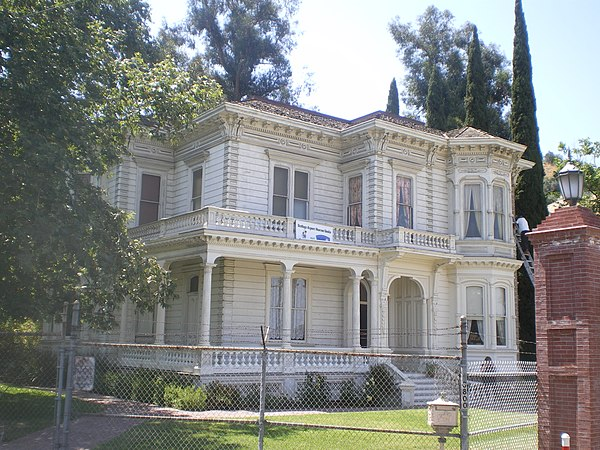 Houses on the national register of historic places in los for Historical homes in los angeles